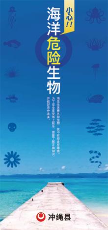 海の危険生物パンフレット簡体中版