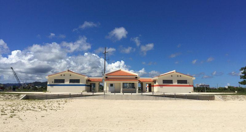 南ぬ浜ビーチ施設写真